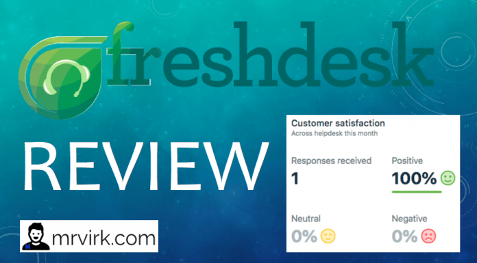 freshdesk review