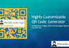 highly customizable free qr code generator