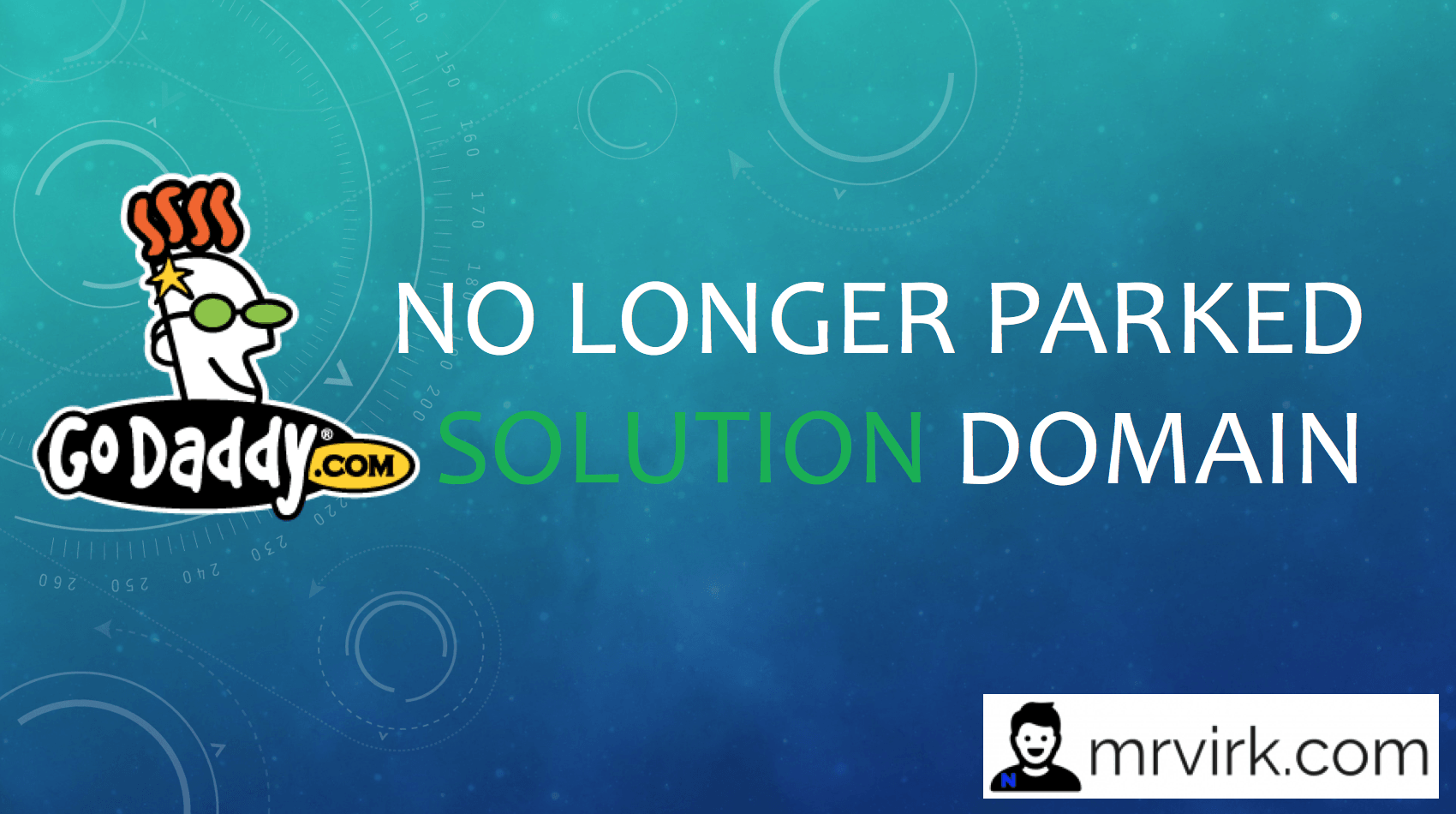 The domain is no longer parked by GoDaddy
