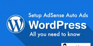 google adsense auto ads wordpress