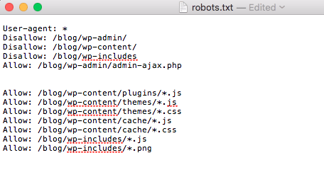 robots.txt file with solution to Your Page is not mobile Friendly