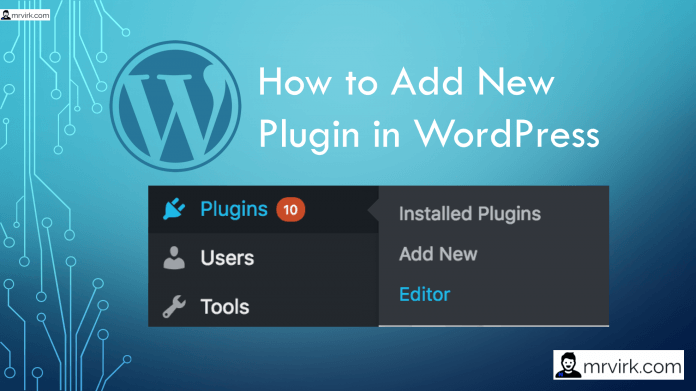 How to Add a New Plugin in Wordpress