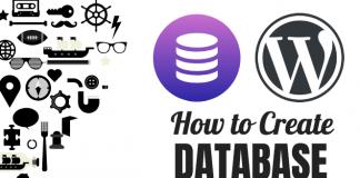 how to create database wordpress