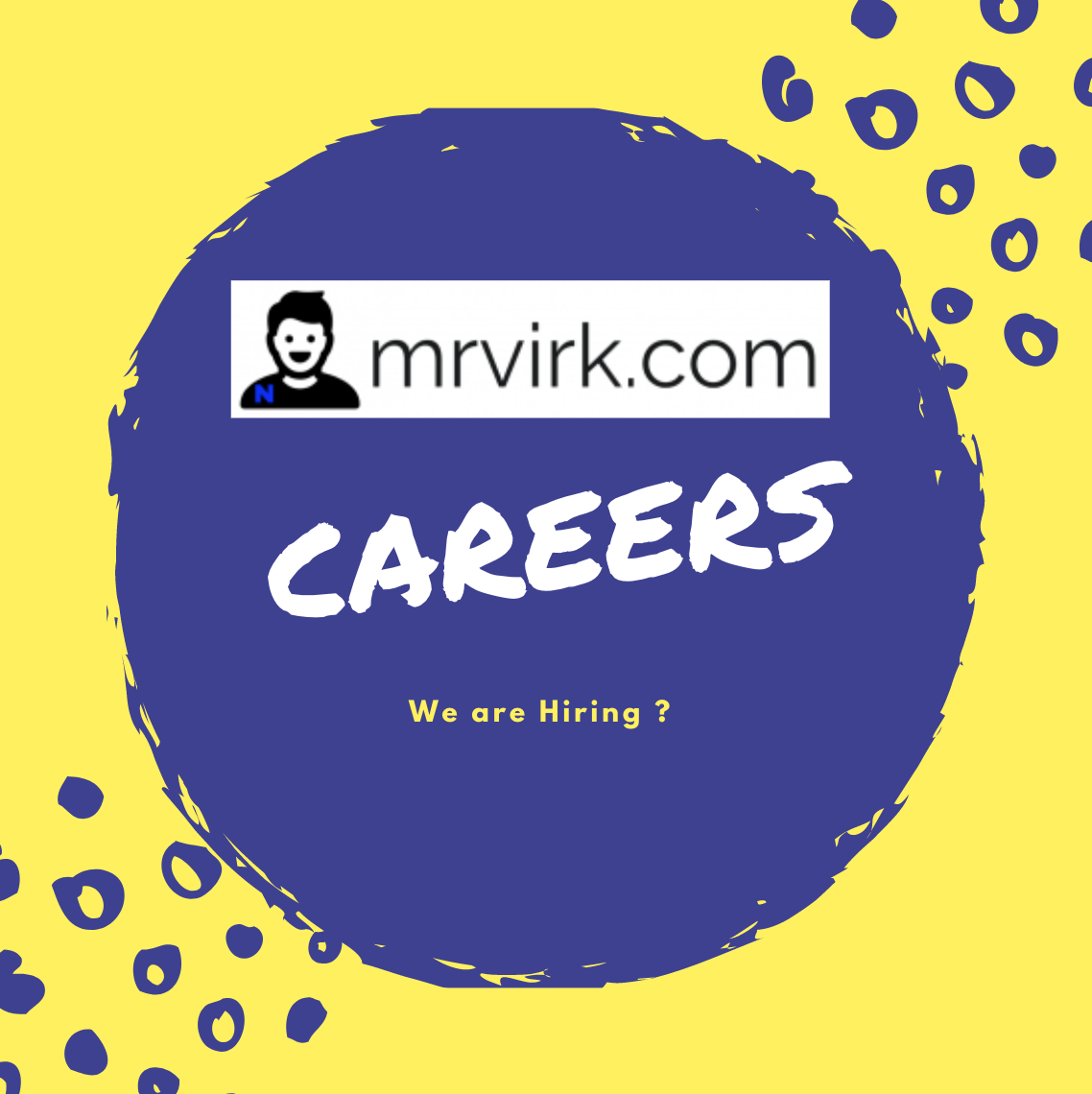 Mrvirk Careers page