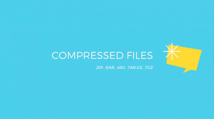 compressed file .zip file