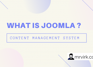 joomla is a content management system