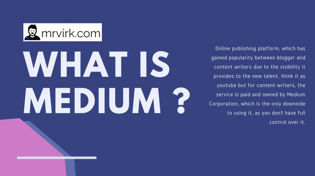 what is medium.com blogging platform