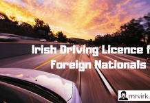 driving licence ireland