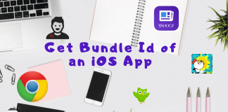 Get Bundle Id of an iOS Ap