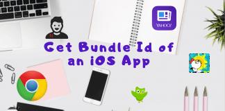 Get Bundle Id of an iOS Ap