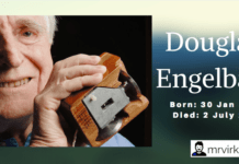 Inventor of Computer Mouse - Douglas Engelbart