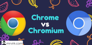 What is the Difference between Chrome and Chromium ?