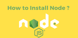 How to Install Node JS