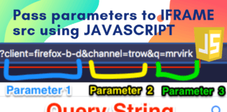 Passing URL Parameters to Iframe